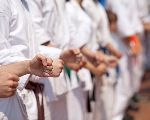 training karate