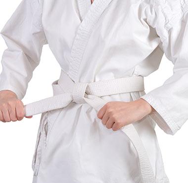 karate white belt